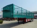 Tri Axles Heavy Duty Cargo Semi Trailer for Truck
