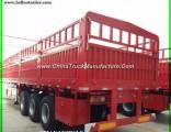3 Axle Cargo Lorry Semi Trailer 50t Cargo Truck Trailer