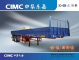Cimc 3 Axle Cargo Semi Trailer/Dropside Cargo Truck Trailer/Side Wall Cargo Semi Trailer Price