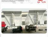 Qilin 30t - 60t Bulk Cargo Transport Self-Discharging Truck Semi Trailer