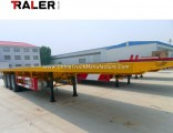 2/3/4 BPW Axles 20FT 40FT Container /Utility /Cargo Flatbed/Platform Truck Semi Trailer