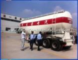 3axle 35ton Bulker Cement Cargo Tanker Truck Semi-Trailer for Sale