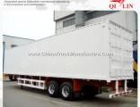 30tons Small Enclosed Box Cargo Transport Semi Truck Van Semitrailer