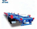 Skeleton Container Chassis Cargo Truck Semi Trailer