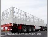 40t Livestock Stake Utility Cargo Truck Tractor Semi Trailer