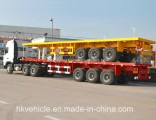 Hot Sale 40FT 20FT Quality Flatbed Container Semi Trailer