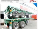 2017 New Manufacture Skeleton Container Semi Trailer for Sale