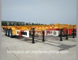 Directly Factory Skeleton 40FT Container Semi Trailer with Twist Locks