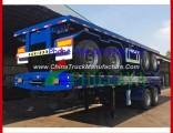 40FT Container Transport Platform Flatbed Semi Trailer