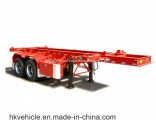 China Export 2 Axles 40FT/20FT Container Semi Trailer for Sale