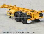 Skeleton Frame Chassis Semi Trailer for Transport 20FT Container