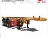 2 Axle 40FT Container Chassis Trailer for Sale