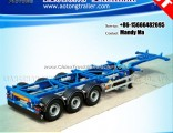 40FT Skeleton Container Semi Trailer, Chassis Truck Trailer
