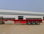3 Axle 40feet Truck Trailers Container Carrier for Sale