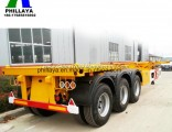 20FT 40FT Truck Chassis Container Semi-Trailer with Twist Lock