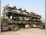 Focus Container Chassis, 40FT Flat Bed Semi Trailer