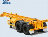 2 Axle 20FT Container Chassis Semi Trailer with Low Price