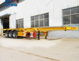 20/40feet 3axles Skeloton Trailer/Container Chassis/Container Trailer for Sale