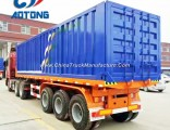 Single Axle 20FT 40FT Skeleton Container Semi Chassis Trailer