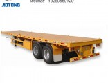 20 Feet 2 Axles Skeleton Container Chassis Semi Trailer for Sale