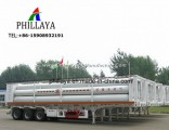 Indonesia Exporting 10 12 16 Tubes Container Chassis CNG Trailer