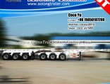 Tri Axles Double Dolly Skeleton 20FT Container Chassis Superlink Trailer