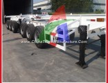 Container Loading Skeletal Chassis Double Trailer