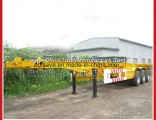 Three / Two Axles 20FT 40FT Container Trailer Chassis for Sale