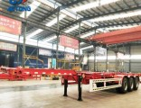 Aotong Brand 20FT/40FT Skeleton Container Chassis/Container Trailer for Sale