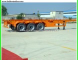 40FT Skeleton 3 Axle Container Chassis Trailer
