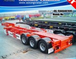 Gooseneck 45FT Container Trailer, Container Chassis Trailer