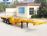 Good Quality 40FT Skeleton Container Trailers/Container Chassis for Sale