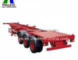 Tridem Axle Cimc 40FT Comb Gooseneck Container Chassis Trailer Frame