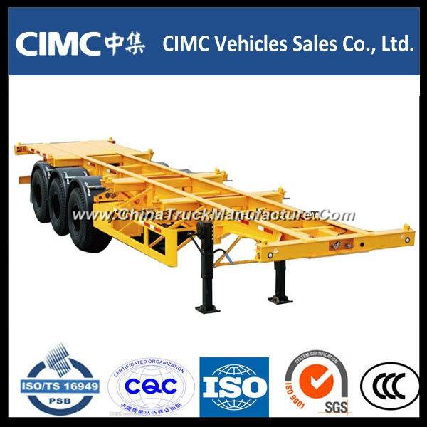 Cimc 40FT Container Chassis Skeleton Trailer, Skeleton Semi-Trailer
