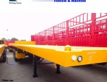 Three Axles 40FT Container Flat Bed Semi Trailer in China