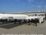 Tri-Axle 40FT Flatbed Container Trailer for Sale at Cheap Price