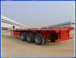 Custom Made 40FT Container Loading Trailer for Africa