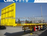 Cimc 3 Axles 40FT Flatbed Container Flat Bed Semi Trailer