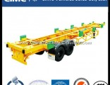 Cimc Two Axles 40FT Container Port Trailer