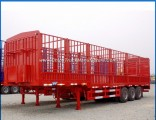 Factory Sale 3 Axle 50t Warehouse Semi-Trailer with Gooseneck