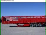 Two Axle Van Type Cargo Semi Trailer for Sale