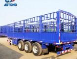 Heavy Duty 40FT Livestock Trailer/Animals Transport Fence Semi Trailer