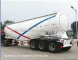 3-Axle Bulk Cement Trailer 40cbm Tanker Truck with Low Price