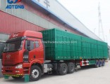 Hot Sale Made in China 3axle 40FT Van Truck Trailer