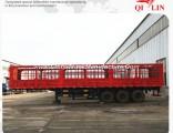 China Hebei Low Price 3 Axles Skeletal Van Semi Trailer
