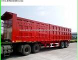 Tri-Axles Van Type Cargo Semi Trailer