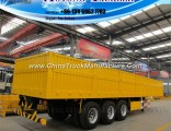 China Curtain Side Wall Van Type Semi Trailer for Sale