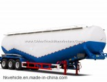 Tri-Axle Dry Bulk Cement Trailer/Cement Bulker Trailers with Air Compressor