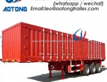 Tri-Axle Van Semi Truck Trailer for Coal/Sand/Bulk Food Transportation (LAT9400XXY)