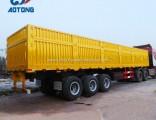 Van Type 2/3 Axles 30t-80t Transport Wagon Truck Cargo Utility Trailer